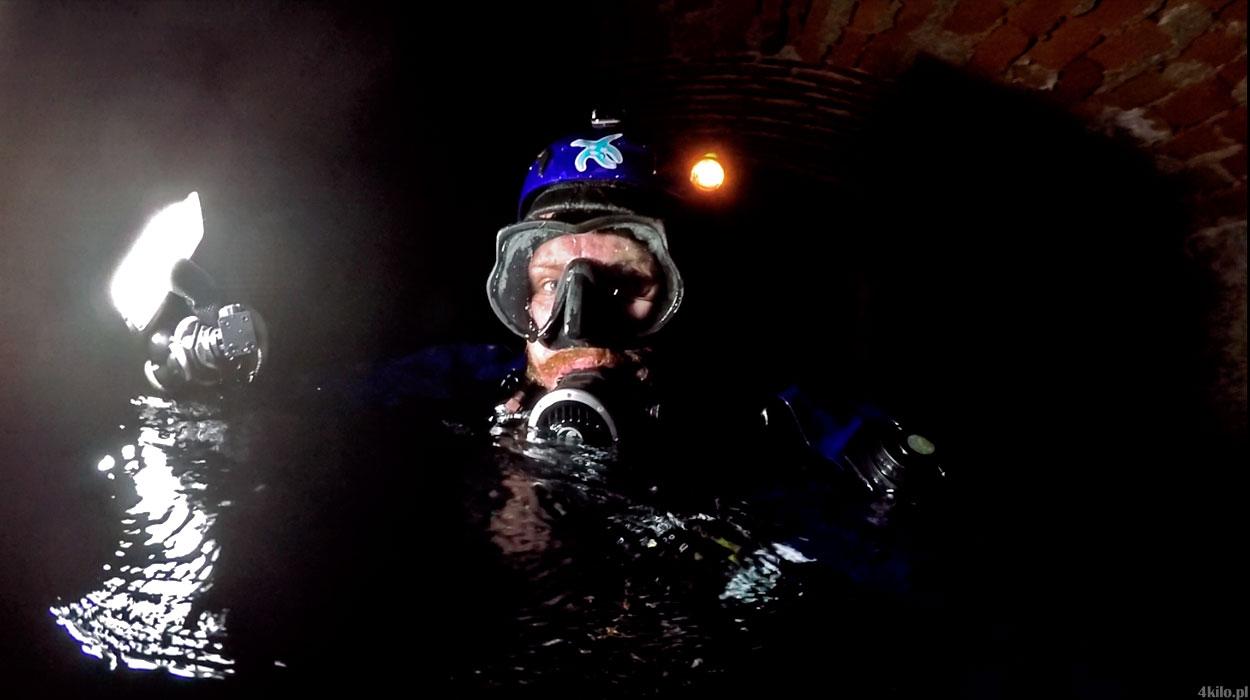 opuszczony browar nurkowanie sobótka górka 23